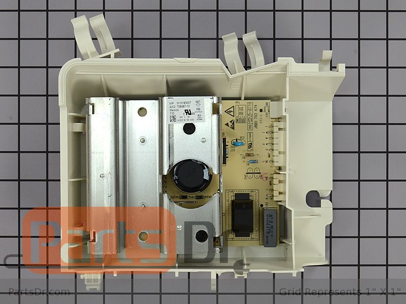 Wpw10163007 Whirlpool Washer Motor Control Unit Parts Dr