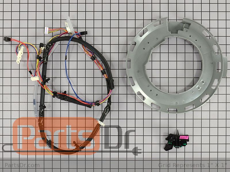 W10183157 Whirlpool Rotor Position Sensor Kit Parts Dr