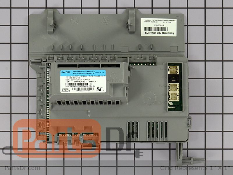 W10427972 Whirlpool Washer Control Board Parts Dr