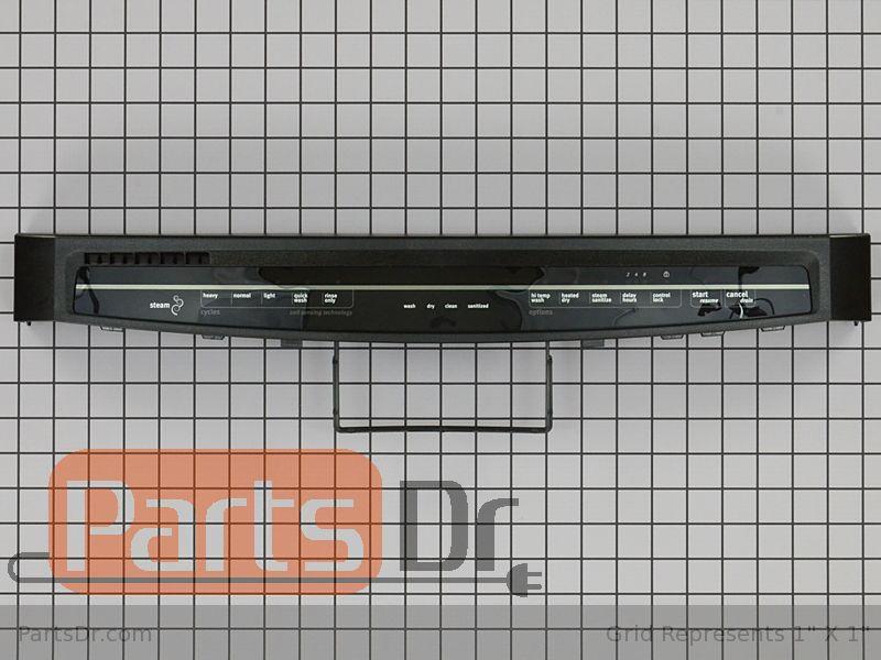 W10811161 Maytag Control Panel Black Parts Dr