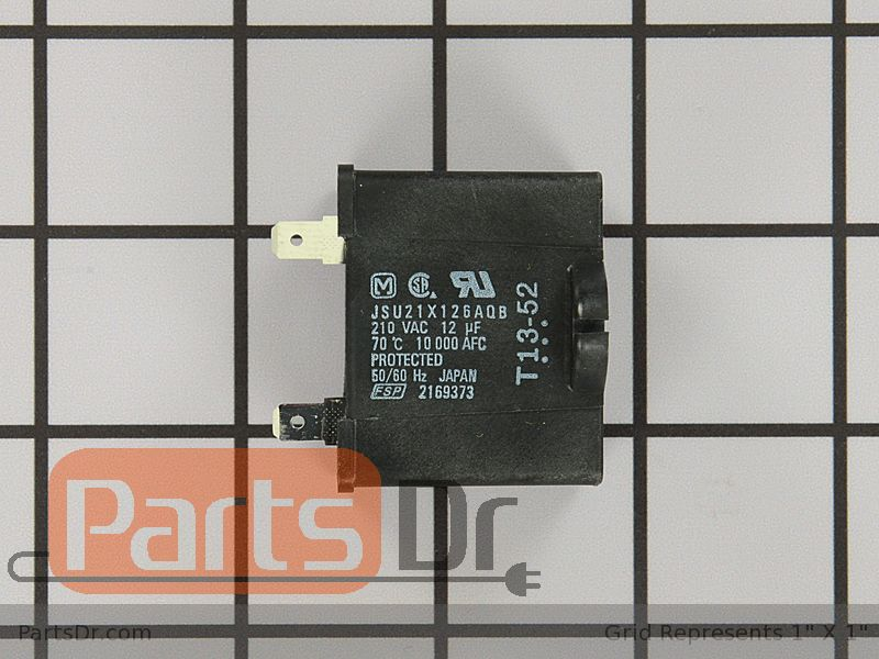 W10662129 Whirlpool Run Capacitor Parts Dr