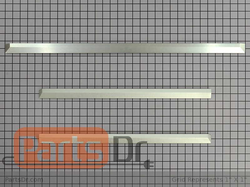 W10731887 Whirlpool Trim Kit Stainless Parts Dr