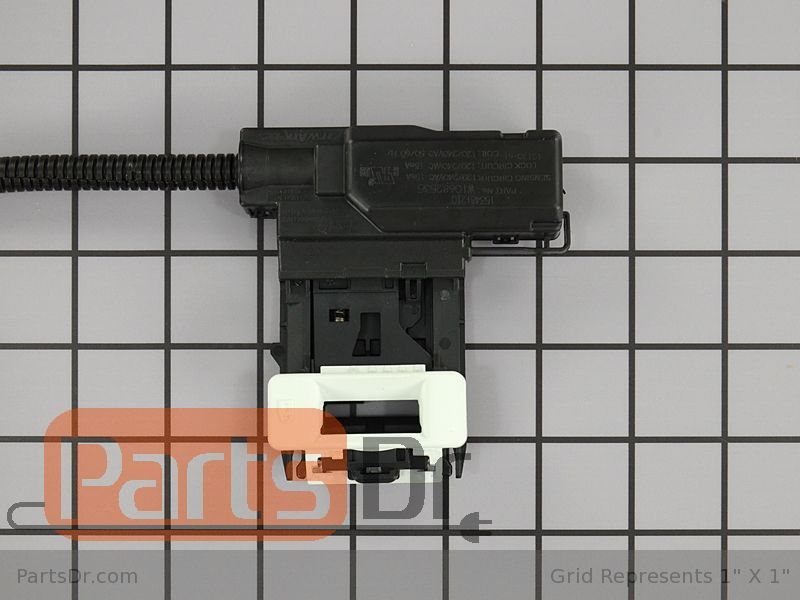 W10838613 Whirlpool Washer Door Latch Parts Dr
