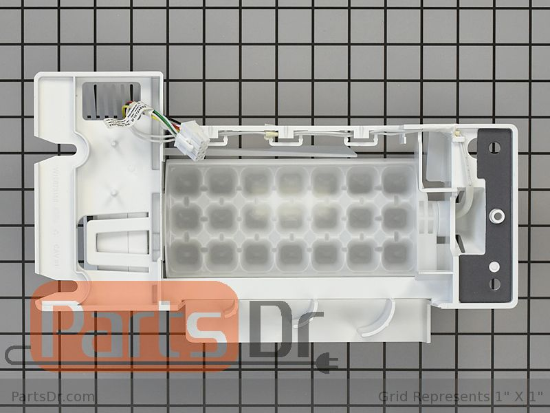 W10898289 WHIRLPOOL REFRIGERATOR ICEMAKER ASSEMBLY