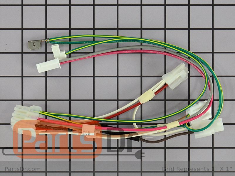 W10913629 - Whirlpool Refrigerator Wire Harness | Parts Dr on