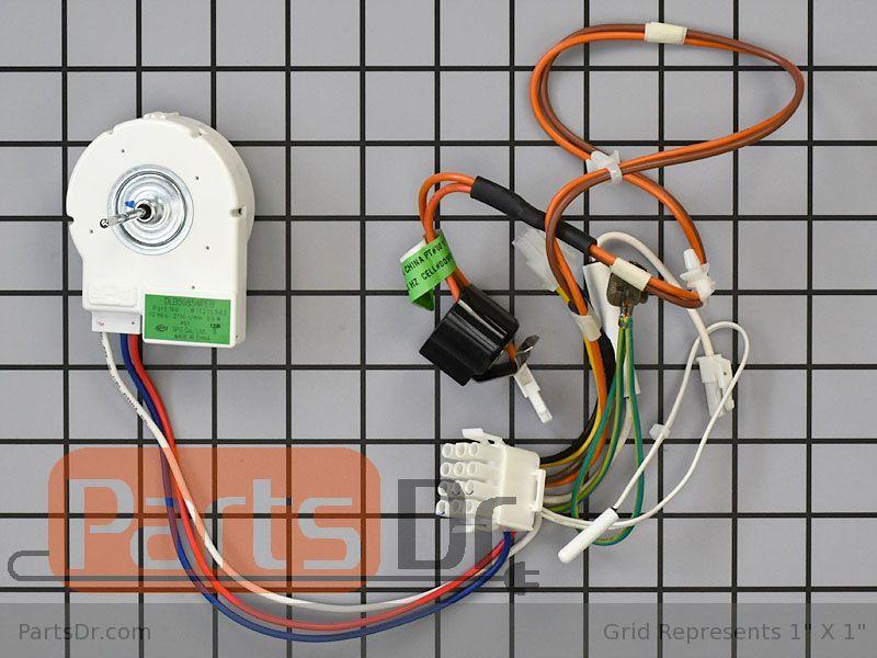 W11224591 Whirlpool Motor-evap OEM W11224591