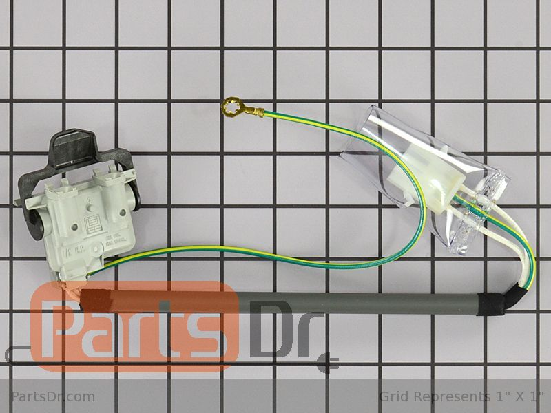 PS3 4 Pack 3355806 Washer Lid Switch WP3355806 Fits Whirlpool Kenmore AP2947199
