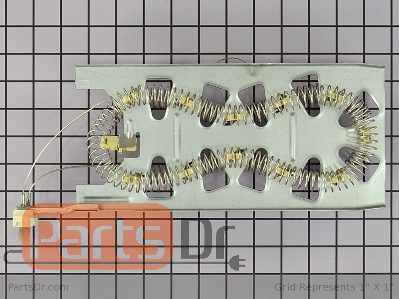 wp3387747 genuine whirlpool dryer heating element parts dr