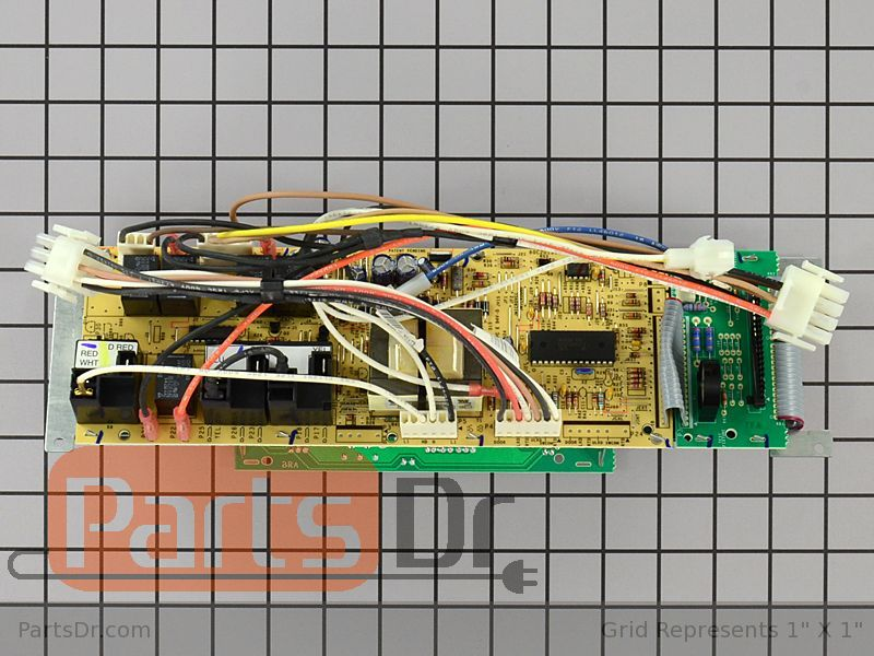 WP74009317 - Whirlpool Oven Control Board with Wire Harness | Parts on switch boards, wire jig templates, meter boards, pin boards, door boards, wheel boards, washer boards, frame boards, electronic circuit boards,