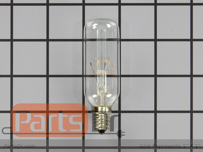 Range Vent Hood Parts Light Bulb