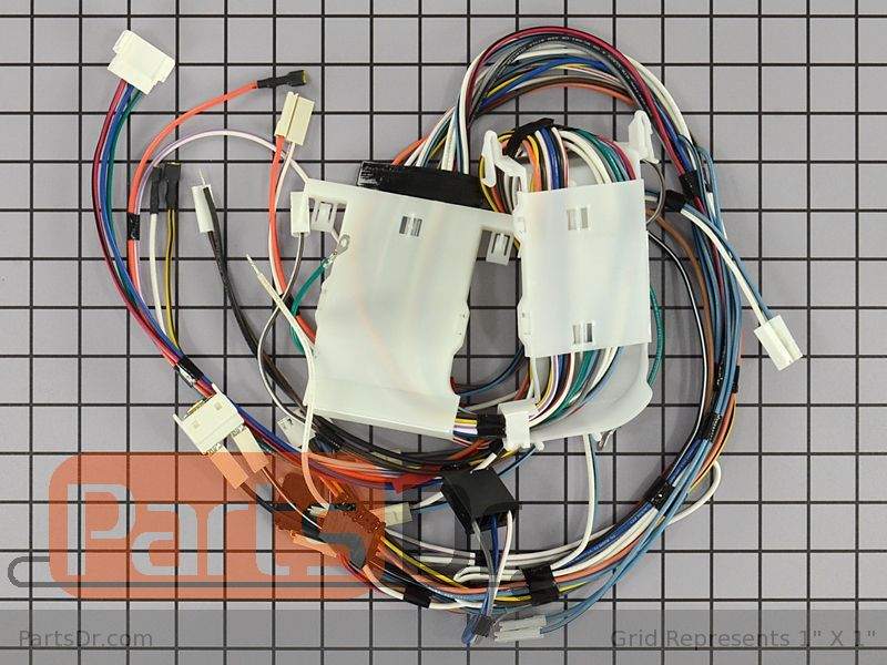 Whirlpool Refrigerator Repair >> WP8534931 - Whirlpool Main Wire Harness & Protector | Parts Dr