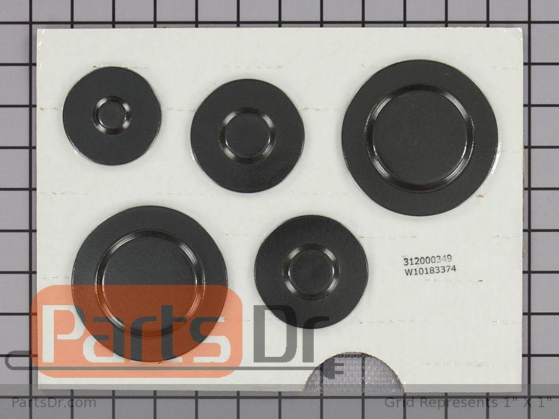 W10183374 Maytag Range Surface Burner Cap