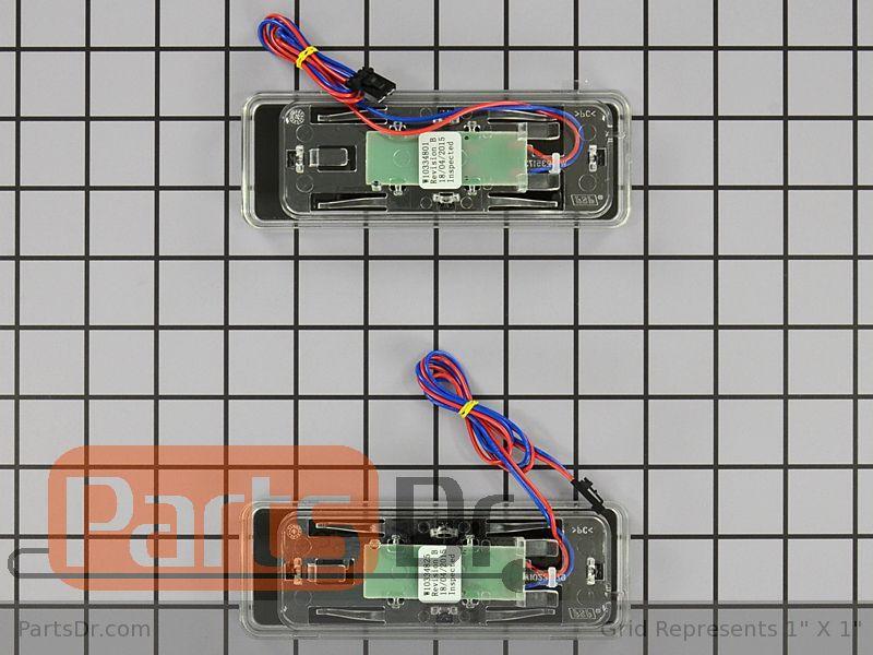 Wpw10368730 Whirlpool Ice Amp Water Dispenser Actuator Kit