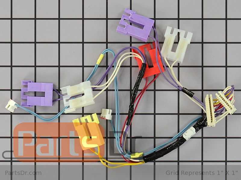Upper Wiring Harness on