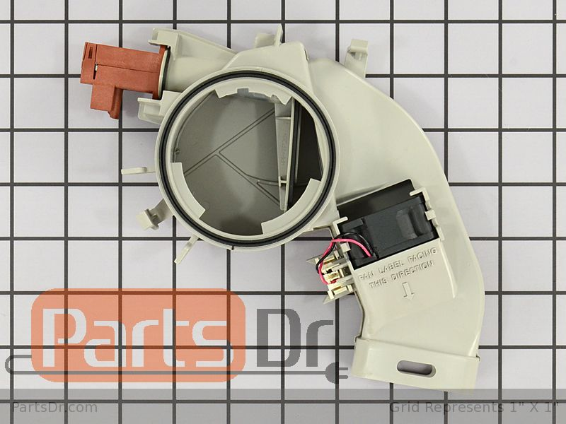 Wpw10469574 Whirlpool Vent Amp Fan Assembly Parts Dr