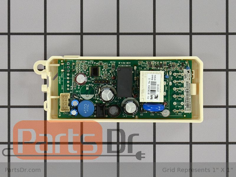 Wpw10643378 Whirlpool Refrigerator Control Board Parts Dr