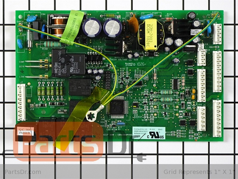 Wr49x10152 Ge Refrigerator Main Control Board Kit Parts Dr