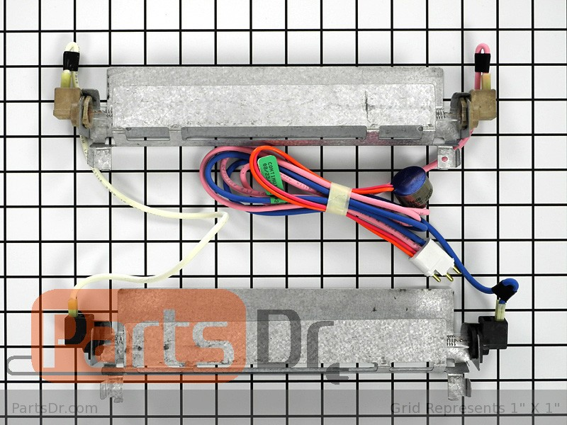 WR51X443 - GE Refrigerator Defrost Heater & Thermostat | Parts Dr | Ge Refrigerator Wiring Diagram Defrost Heater |  | Parts Dr