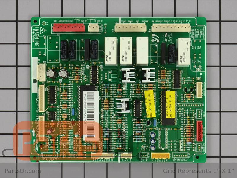 Wr55x10806 Ge Refrigerator Main Control Board Parts Dr