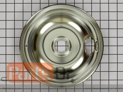 8 Inch Stove Top Drip Pan WPW10196405